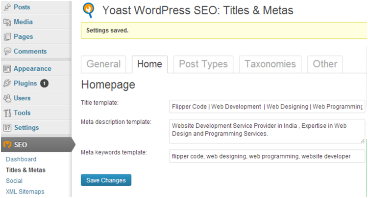 yoast home Proven SEO Techniques for WordPress Websites
