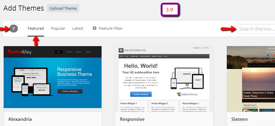 add theme 3.9 What are the Expected Changes in WordPress 3.9 As Compared to 3.8?