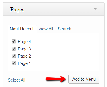 page A Complete Guide About Menus in WordPress
