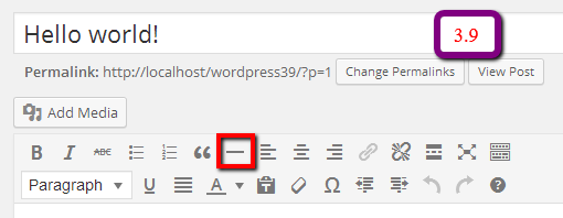 visual editor wp3.9 What are the Expected Changes in WordPress 3.9 As Compared to 3.8?