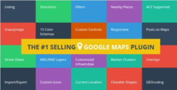 WP Google Maps Pro Wordpress Plugin