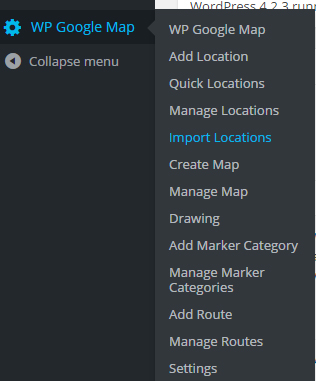 import location