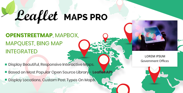 leaflet openstreetmaps mapbox bing mapquest